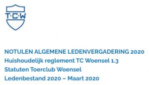 Notulen Algemene Ledenvergadering 2020