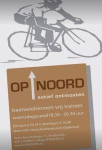 Wintertraining wielerbaan Op Noord